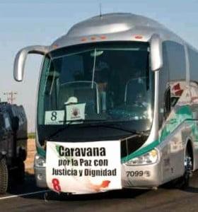 La Caravana de la Paz recorre los Estados Unidos para pedir el fin de la violencia en México