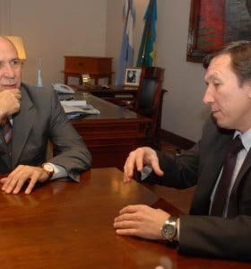 Bevilacqua se reunió con el presidente de la Corte Suprema
