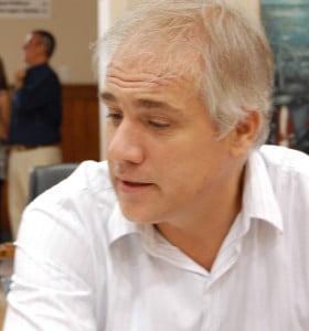 El secretario de gobierno y el directorio de la Sapem se reunieron con concejales