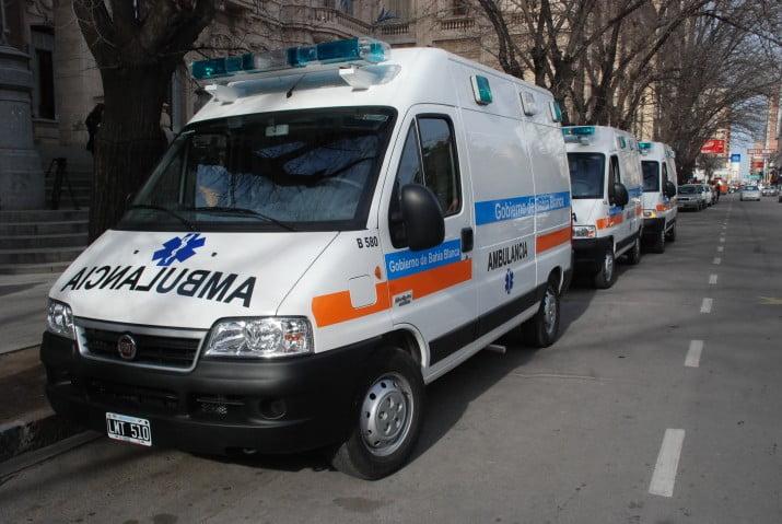 Tres nuevas ambulancias para el servicio de emergencias