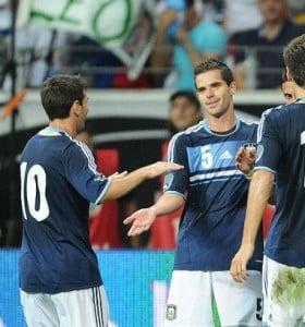 Argentina triunfó ante Alemania con golazos de Messi y Di María