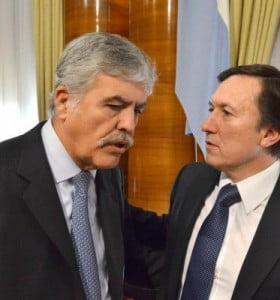 Bevilacqua participó de una reunión con el ministro de Planificación Julio De Vido