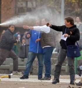 Córdoba: una marcha de estatales terminó con incidentes y heridos