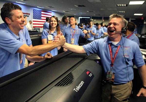 Curiosity, el robot más sofisticado de la NASA, llegó a Marte