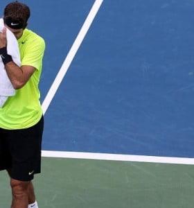 Del Potro no pudo ante Djokovic por las semifinales del Masters 1000 de Cincinnati
