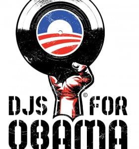 Los DJ´s, en campaña por Obama