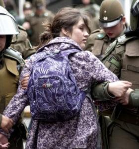 Chile: con trece marchas estudiantiles se cumple el paro nacional de la enseñanza