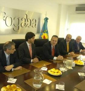 Breitenstein formalizó la llegada del nuevo titular del Fogaba