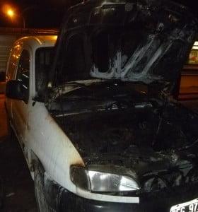 Autos quemados
