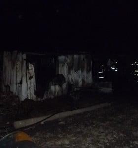 Se incendió una vivienda