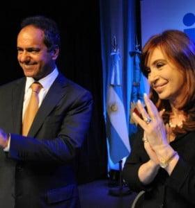Scioli reiteró que apoyará a Cristina si hay reforma constitucional