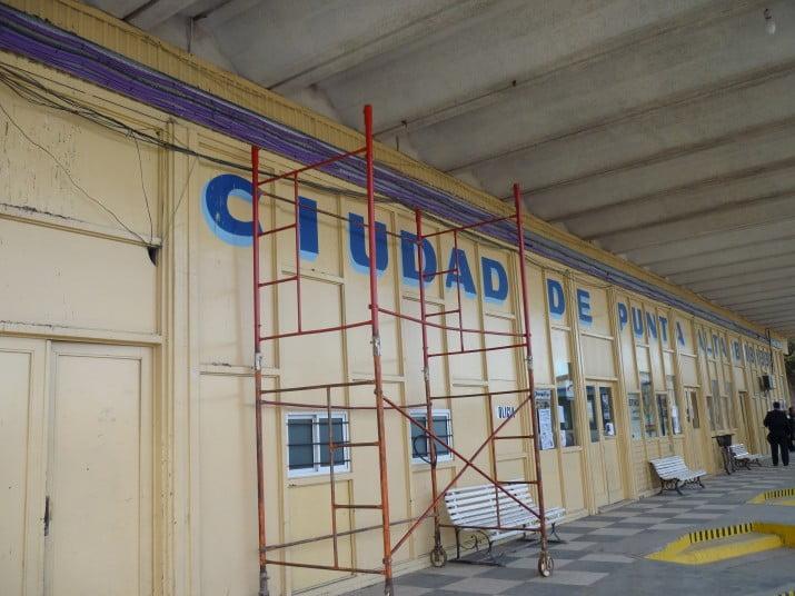 Punta alta renuevan accesos e instalaci n el ctrica de la terminal de omnibus - Instalacion electrica superficie ...