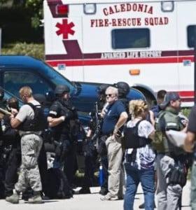 Otra masacre en EE.UU.: al menos siete muertos en un tiroteo en un templo