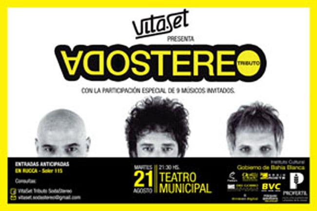 Vita Set: tributo a Soda Stereo en el Teatro Municipal