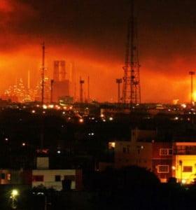 Trágica explosión en la mayor refinería venezolana