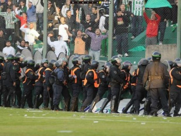 Scioli presentó una agencia provincial para prevenir la violencia en el deporte