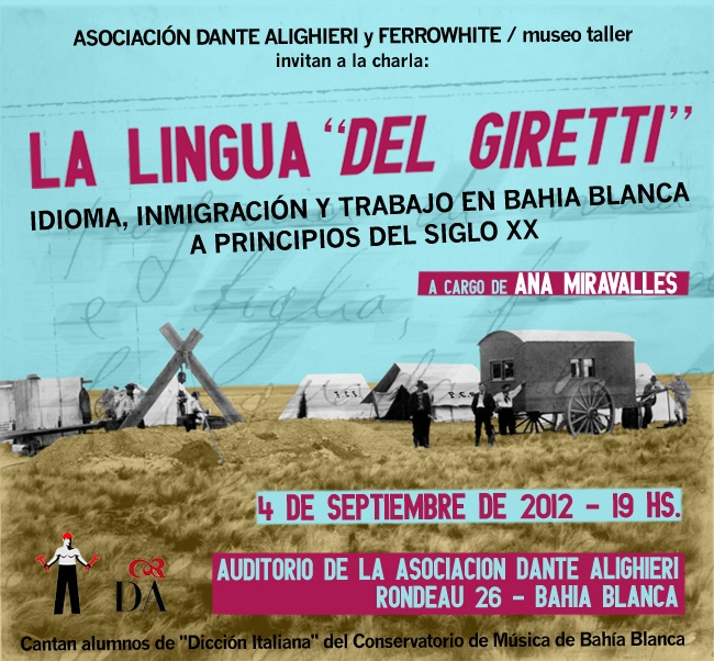 """""""La lingua del Giretti"""". Idioma, inmigración y trabajo en Bahía Blanca a inicios del siglo XX."""