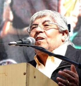 Moyano comparte un acto con Venegas y la oposición