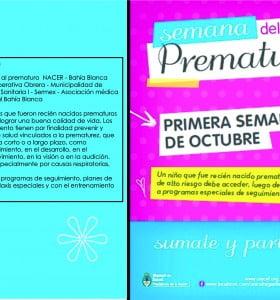 Semana del  Prematuro 2012