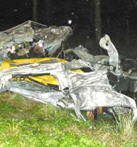 Accidente fatal: murieron tres personas, dos eran los ladrones de joyería Debernardi