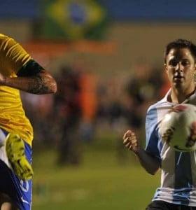 """Argentina perdió con Brasil el """"Superclásico de las Américas"""""""