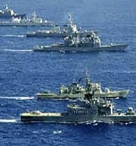 La Armada argentina interceptó dos pesqueros ilegales con licencia isleña