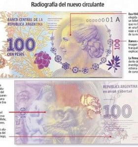 ¿Cómo reconocer la autenticidad de los nuevos billetes de $100?