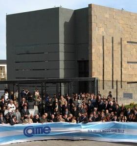 La CAME celebró el Día de la Industria con un homenaje a Kirchner