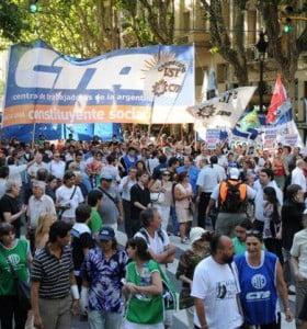 CTA bonaerense protestará 'contra el ajuste de Scioli': Habrá cortes de ruta