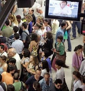 Caos en Madrid y Barcelona por la huelga que afecta el transporte