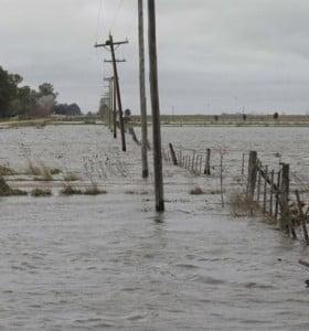 Pérdidas millonarias por las inundaciones en la Provincia