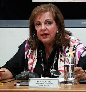 Garré criticó a las policías de Macri y Scioli