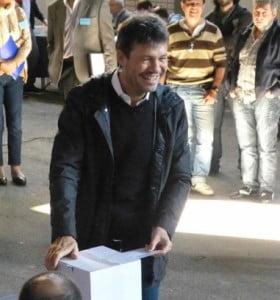 Elecciones en San Lorenzo: Tinelli candidato