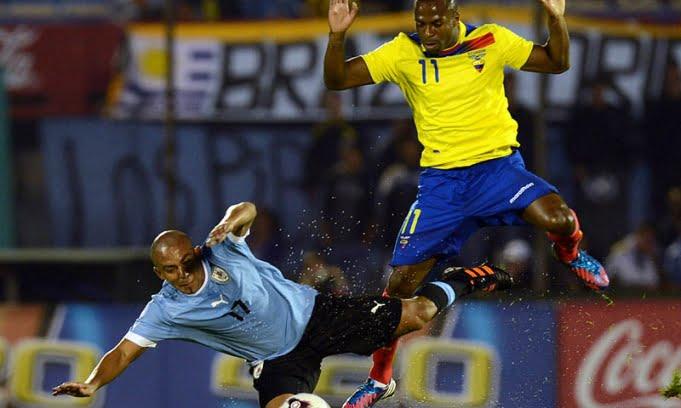 Uruguay rescató un empate ante Ecuador en Montevideo