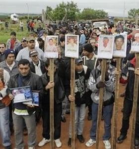 Acusan a la policía por la masacre que terminó con la destitución de Fernando Lugo