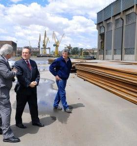 Astillero Río Santiago pone en marcha nueva construcción naval de gran porte