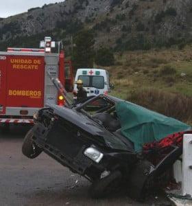 Accidente fatal en la ruta 76