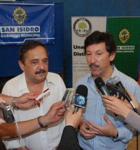 Alfonsín posicionó a Posse como posible candidato a gobernador 2015