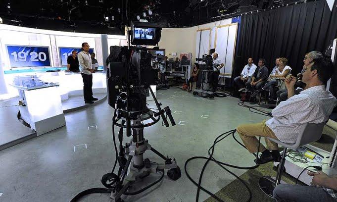 Trabajadores de la radio y la televisión pública francesa paran en rechazo del ajuste
