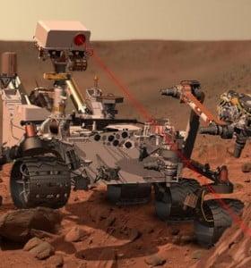 ¿Qué fue lo que encontró el Curiosity en Marte?