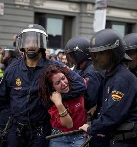 Una de las fotos que el gobierno español no quiere mostrar