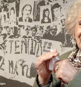 Las Abuelas de Plaza de Mayo celebran los 35 años de su nacimiento como organización