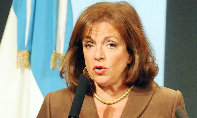 Nilda Garré intervino la Dirección de Asuntos Jurídicos de la Gendarmería