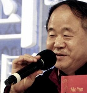 El escritor chino Mo Yan fue galardonado con el Premio Nobel de Literatura 2012