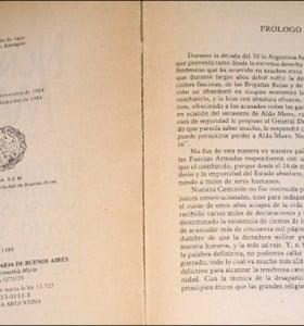 """Confirman que ninguna edición del """"Nunca Más"""" tuvo prólogo firmado por Ernesto Sábato"""