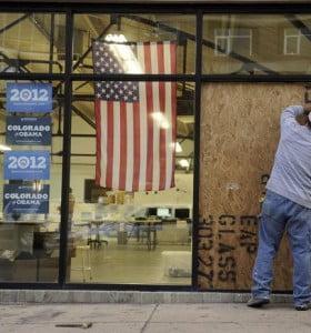 Balean la sede de campaña de Barack Obama en Denver