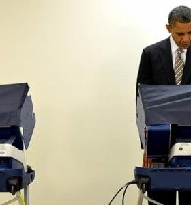 EEUU: Obama, el primer presidente en adelantar su voto