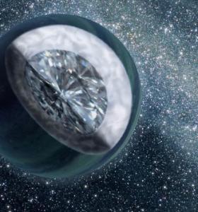 Descubren un planeta formado por diamantes