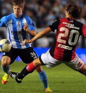 Racing igualó en Avellaneda con Newell's y Vélez venció a Tigre sobre el final y como visitante