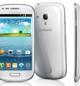 Samsung lanzó la versión mini de su Galaxy S III